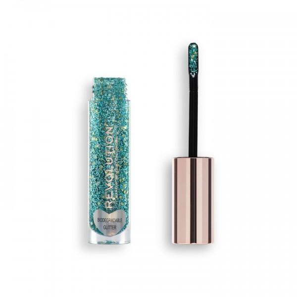 Revolution - Glitter Body Gloss - Viva Multi Glitter Gloss Headliner