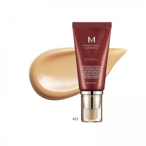 MISSHA - BB Cream - M Perfect Cover BB Cream - SPF42 - No.25/Warm Beige - 50ml