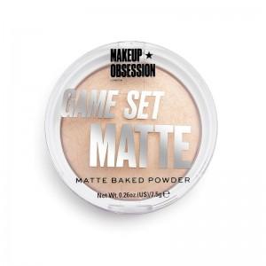 Makeup Obsession - Puder - Game Set Matte - Matte Powder Cabo