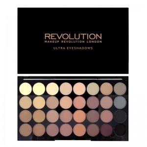 Makeup Revolution - Lidschattenpalette - Ultra 32 - Flawless Matte