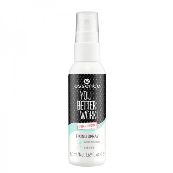 essence - Fixierspray - you better work! fixing spray