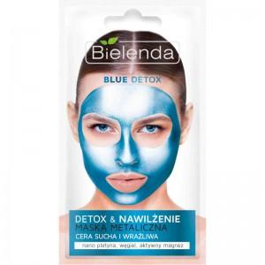 Bielenda - Blue Detox Detoxifying Face Mask For Dry And Sensitive Skin