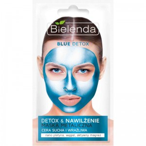 Bielenda - Maschera - Blue Detox Detoxifying Face Mask For Dry And Sensitive Skin
