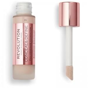Makeup Revolution - Foundation - Conceal & Define Foundation F2