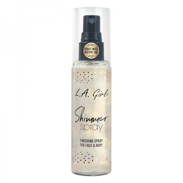 LA Girl - Shimmer Spray - Prime, Set & Shimmer - Gold
