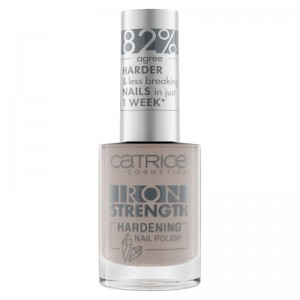 Catrice - Nagellack - Iron Strength Hardening Nail Polish 06 - Smokey Quartz