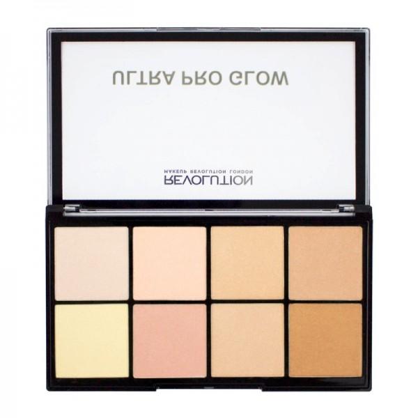 Makeup Revolution - MakeUp Palette - Ultra Pro Glow