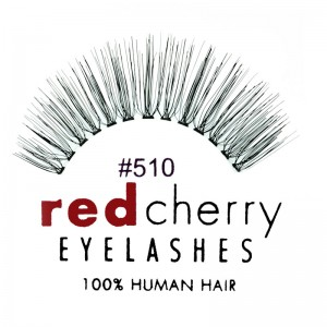 Red Cherry - False Eyelashes No. 510 Juliet - Human Hair