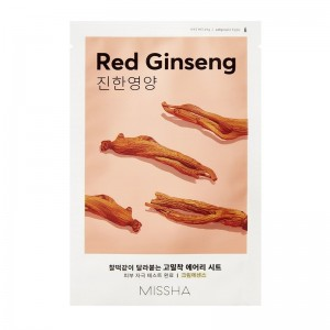 MISSHA - Gesichtsmaske - Airy Fit Sheet Mask - Red Ginseng