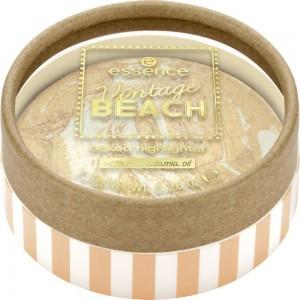 essence - Highlighter - Vintage BEACH baked highlighter