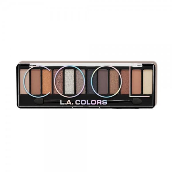 LA Colors - Color Vibe Eyeshadow Palette - Cool