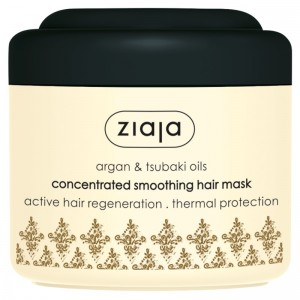 Ziaja - Haarmaske - Argan and Tsubaki Oil Concentrated Smoothing Hair Mask