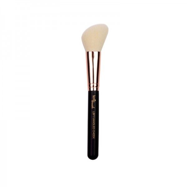 lenibrush - Angled Cheek Brush - LBF11 - Matte Black Edition