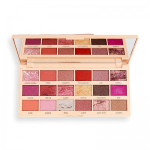 I Heart Revolution - Eyeshadow Palette - Marble Rose Gold Chocolate Palette