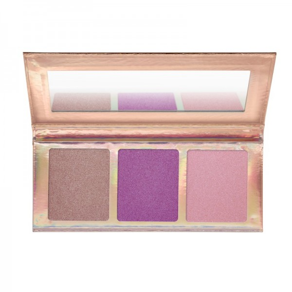 essence - go for the glow highlighter palette 02
