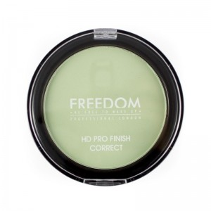 Freedom Makeup - Puder - HD Pro Finish Correct - Mint Green