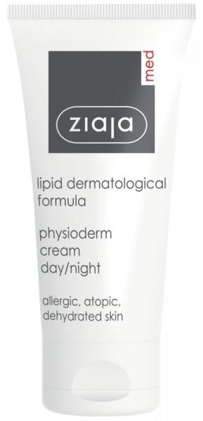 Ziaja Med - Face Cream for Sensitive Skin - Lipid Formula Physioderm Cream