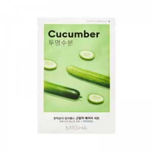 MISSHA - Gesichtsmaske - Airy Fit Sheet Mask - Cucumber