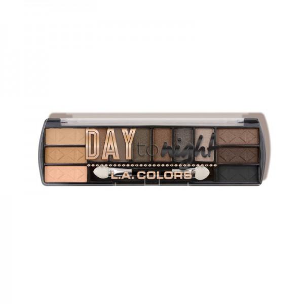 LA Colors - Lidschattenpalette - Day to Night (12 Color Eyeshadow) - Daylight