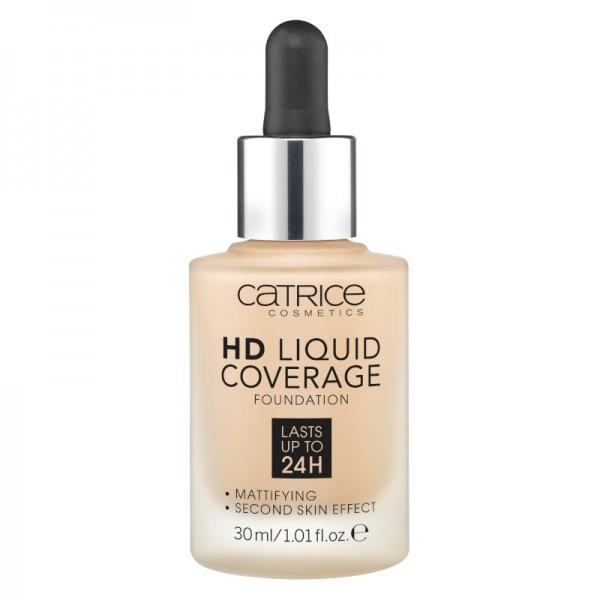 Catrice - Foundation - HD Liquid Coverage Foundation - 030 Sand Beige