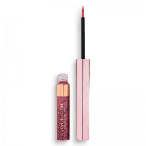 Revolution - Glitzer Eyeliner - Precious Stone Glitter Eyeliner - Rose Quartz