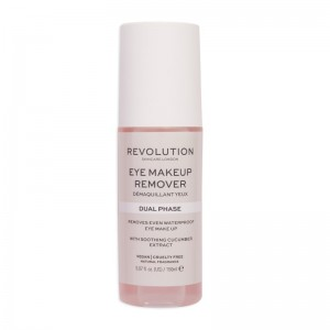 Revolution - Augenmakeupentferner - Skincare Eye Make Up Remover Dual Phase
