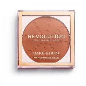 Revolution - Puder - Bake & Blot - Orange