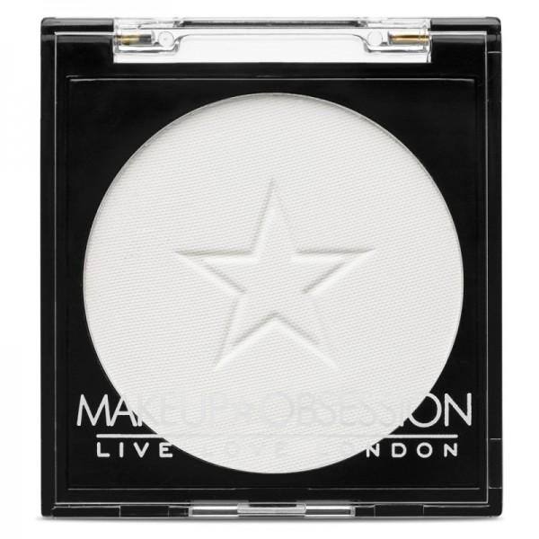 Makeup Obsession - Mono Lidschatten - E105 - White Out