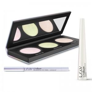 L.O.V - online exclusive - Makeup Set - LOVILLUSION holographic makeup set