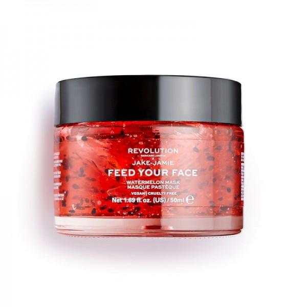 Revolution - Gesichtsmaske - Skincare x Jake – Jamie Watermelon Hydrating Face Mask