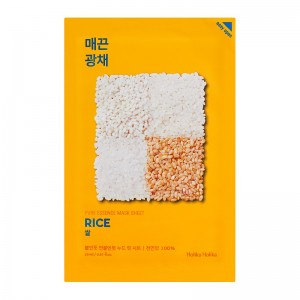 Holika Holika - Gesichtsmaske - Pure Essence Mask Sheet - Rice