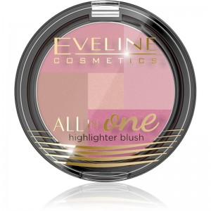 Eveline Cosmetics - Mosaic Blush All In One No 02