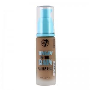 W7 Cosmetics - Foundation - In The Rain - Waterproof - True Beige