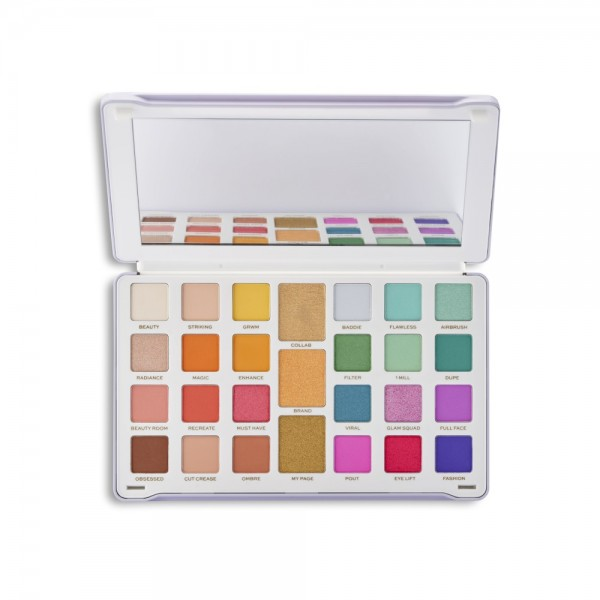 Revolution - Lidschattenpalette - Creator Limitless Eyeshadow Palette Royal Colour