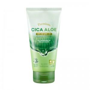 Missha - Schiuma detergente per il viso - Premium Cica Aloe Foaming Cleanser