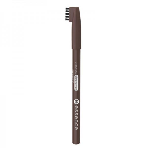 essence - Augenbrauenstift - eyebrow designer 02 brown
