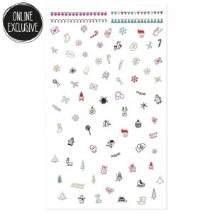 essence - Nageldesign - online exclusives - ho!ho!ho! nail stickers 01