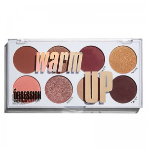 Makeup Obsession - Lidschattenpalette - Warm up Eyeshadow Palette