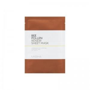 Missha - Bee Pollen Renew Sheet Mask