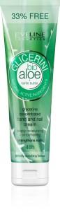Eveline Cosmetics - Handcreme - Glicerini Hand- und Nagelcreme mit Aloe Vera