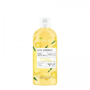 Bielenda - Mizellenwasser - Eco Sorbet - Pineapple - Micellar Water - Moisturizing + Brightening - 5