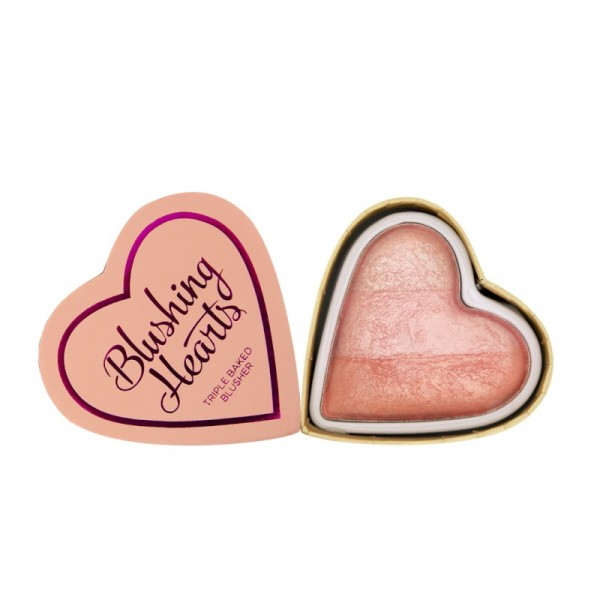 I Heart Makeup - Rouge - Blushing Hearts - Blusher - Peachy Pink Kisses