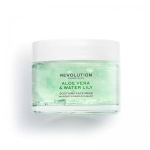 Revolution - Gesichtsmaske - Skincare Aloe Vera & Water Lily Soothing Face Mask
