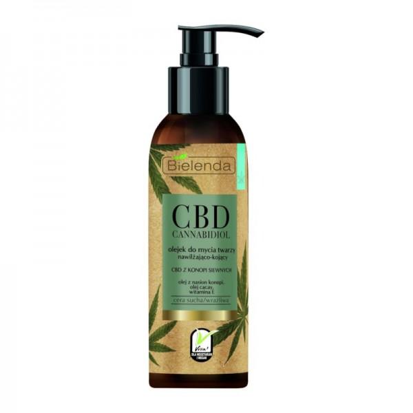 Bielenda - Reinigungsöl - CBD Cannabidiol Face Cleansing Oil For Dry And Sensitive Skin