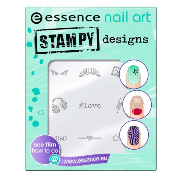essence - nail art stampy designs - 01 have fun! - 1