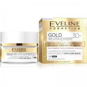 Eveline Cosmetics - Gesichtscreme - Gold Lift Expert Day & Night Cream 30+