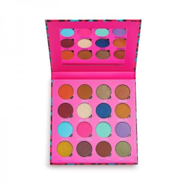Makeup Obsession - Lidschattenpalette - In The Neon Jungle Eyeshadow Palette