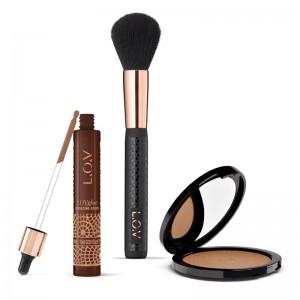 L.O.V - online exclusive - Makeup Set - LOVSUN bronze & glow summer set