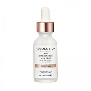 Revolution - Serum - Skincare Blemish and Pore Refining Serum - 10% Niacinamide + 1% Zinc