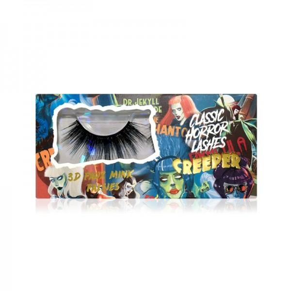 LASplash Cosmetics - Falsche Wimpern - Classic Horror Faux Mink Falsies - Creeper